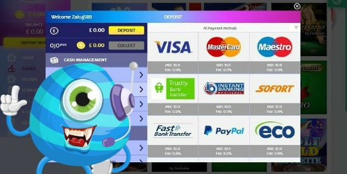 The best payment options at Playojo Casino